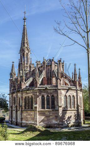 Chapel Pantheon Of Marquis De Comillas, Spain