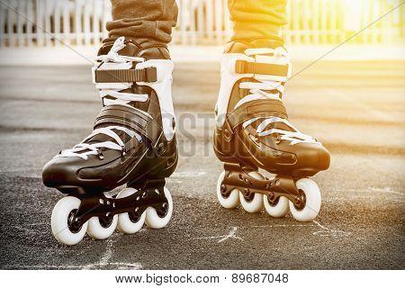 Walk On Roller Skates For Skating