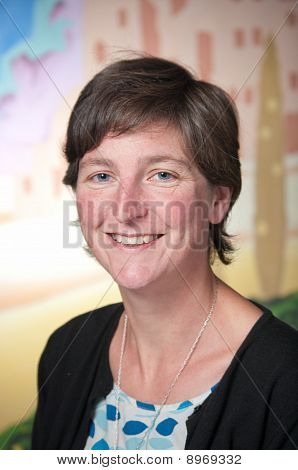 Smiling Business Woman Portrait