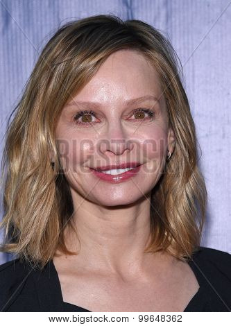 LOS ANGELES - AUG 10:  Calista Flockhart arrives to the Summer 2015 TCA's - CBS, The CW & Showtime  on August 10, 2015 in West Hollywood, CA