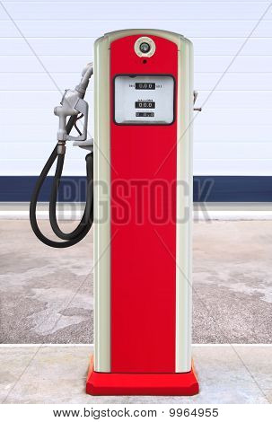 Gasolinera retro