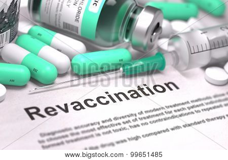 Revaccination - Medical Concept.