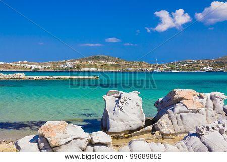 Kolymbithres Beach, Paros Island, Cyclades, Aegean, Greece
