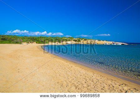 Santa Maria Beach, Paros Island, Cyclades, Aegean, Greece