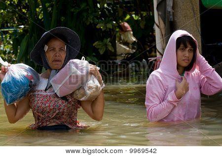 Flooding In Nakhon Ratchasima, Thailand.