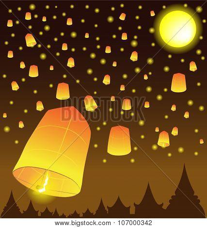 Thai Lanna Hot Balloons
