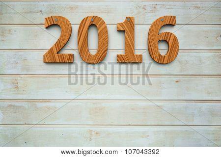 Wooden 2016 Background