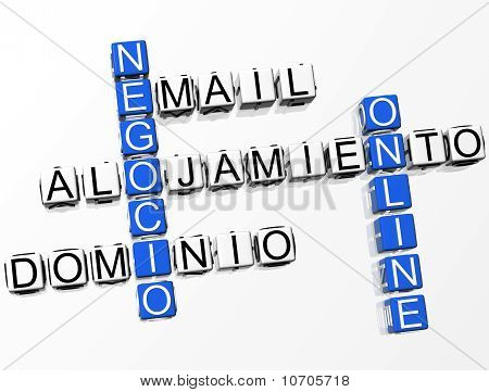 Negocio Online Crossword