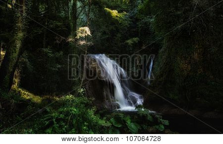 One Of Small Cascades Cascata Delle Marmore Waterfalls, Umbria, Italy