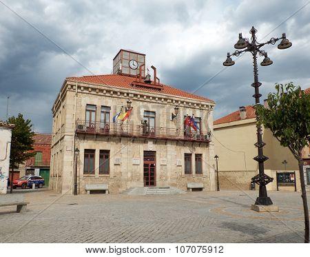 Guadalix De La Sierra Town Hall. Madrid, Spain.