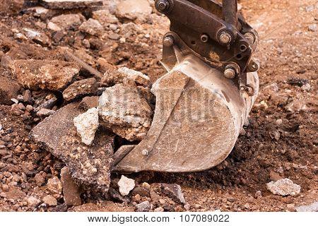 Dredger Digging