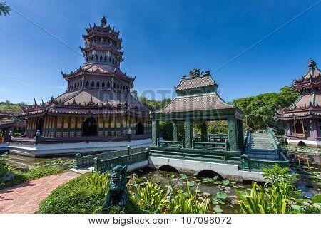BANGKOK, THAILAND - JULY 30, 2015: Ancient Siam (Ancient City, Mueang Boran) park