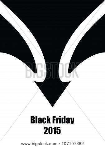 black friday abstract background, eps10, vector design