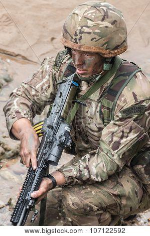 British Royal Marine Commandos