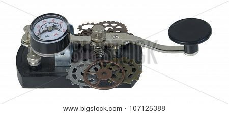 Telegraph Key With Gears