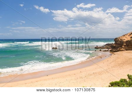 Beautiful Sunny Day At Australian Beach