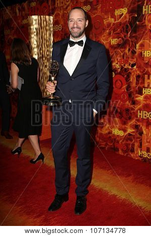 LOS ANGELES - SEP 20:  Tony Hale at the HBO Primetime Emmy Awards After-Party at the Pacific Design Center on September 20, 2015 in West Hollywood, CA