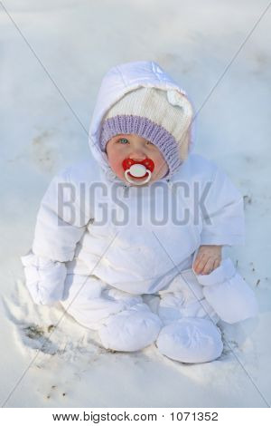 Baby In The First Snow