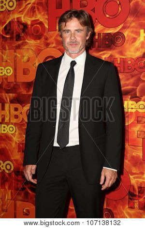 LOS ANGELES - SEP 20:  Sam Trammell at the HBO Primetime Emmy Awards After-Party at the Pacific Design Center on September 20, 2015 in West Hollywood, CA