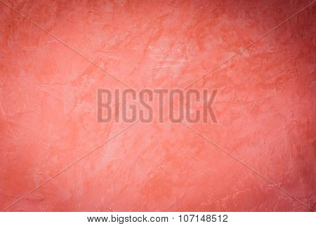 Handmade Creative Red Wall Background