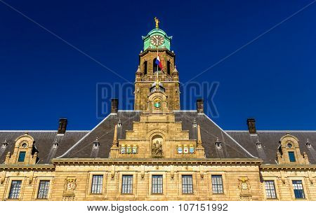 Facade Of Rotterdam City Hall, Netherlands
