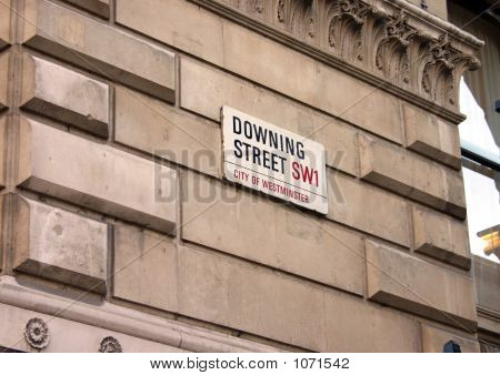 The Sign For Downing Street