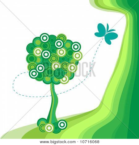 The Background Abstract Tree.