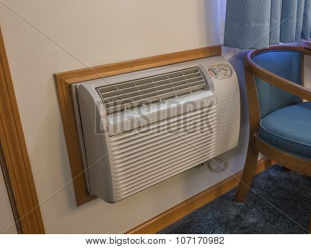 Indoor heater and air conditioner