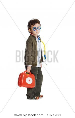 Adorable Child Doctor