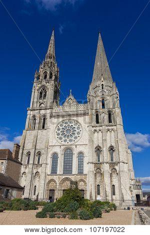 Cathedral of Chartres Eure-et-Loir centre-val de loire France poster