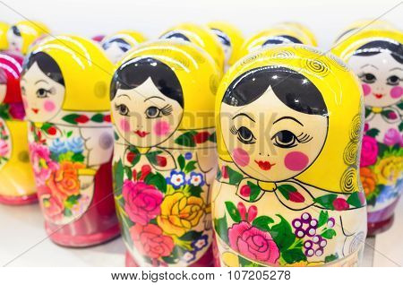 Matryoshka Also Known As Russian Nesting Dolls