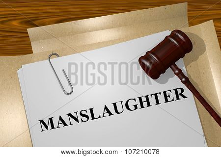 Manslaughter Concept
