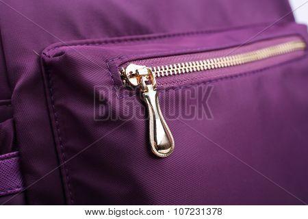 Zipper Of Backpack