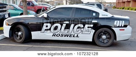 Roswell Police Department car