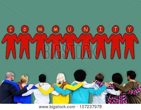 Community People Togetherness Fellowship Concept