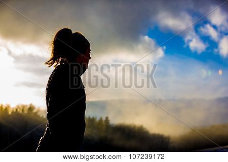 Female Trail Running
