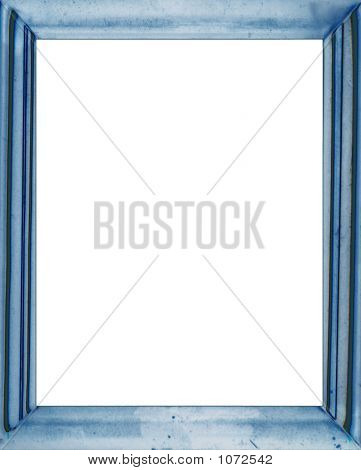 Antique Blue Frame