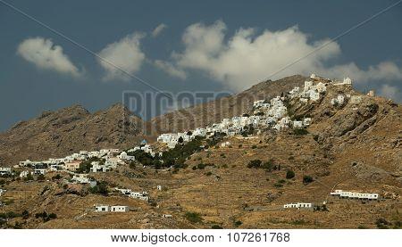 Town Of Serifos Island, Greece