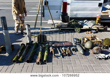 Demonstration Of Russian Weapons In Kiyv
