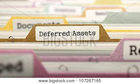 Folder in Catalog Marked as Deferred Assets.