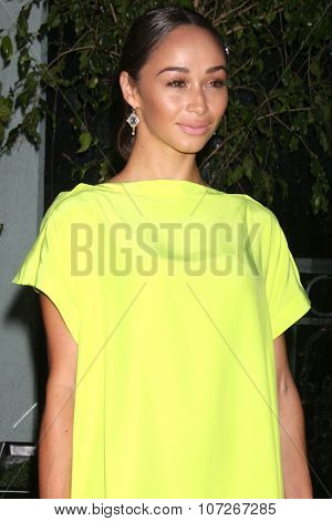 LOS ANGELES - MAY 2:  Cara Santana at the Jaguar North America and Britweek Present