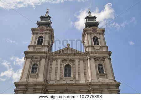 Cathedral of St Teresa Avila in Subotica