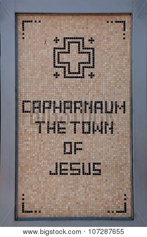 Caphernaum, Ancient Town Of Jesus