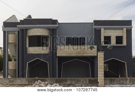The Building In Druze Village