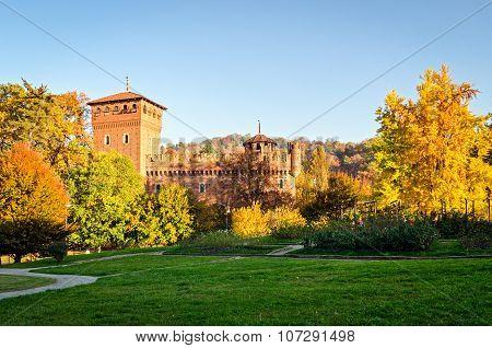 Turin (torino Parco Del Valentino And Borgo Medievale)