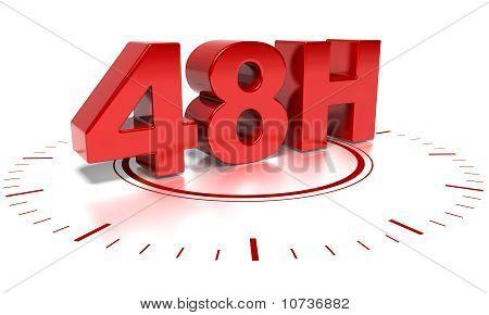 48 Stunden Versand