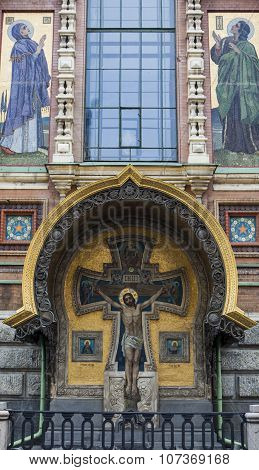 Church of the Savior on Spilled Blood in Sankt Petersburg, Russia