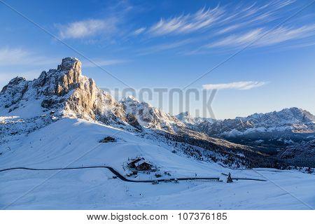 Passo Ghiau And Cima Ra Gusela, Dolomites - Italy