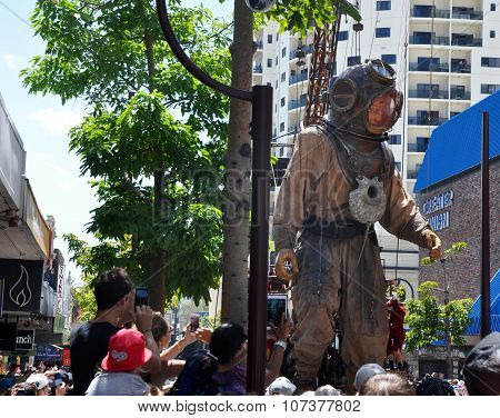 Marionette at Journey of the Giants in Perth