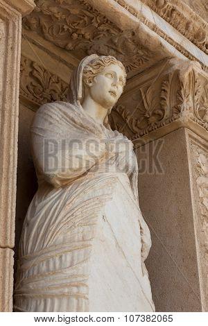 Library , Arete  At Ephesus